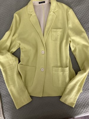 Marc O'Polo Blazer en jersey jaune citron vert