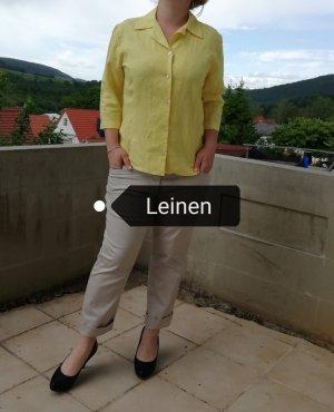 Barisal Blouse en lin jaune primevère-jaune lin