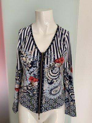 Jacke Bluse Shirt Gr 34 36 XS steht 0 von Biba