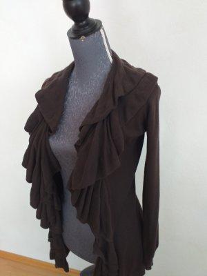 Lauren by Ralph Lauren Giacca lunga marrone-grigio-marrone scuro