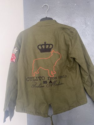 Calito from spain Military Jacket khaki-green grey