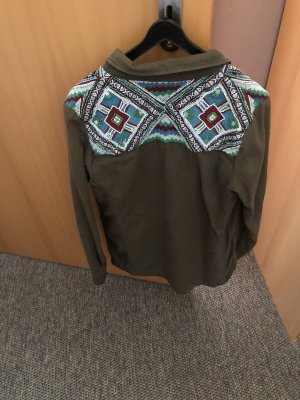 Zara Trafaluc Long Jacket multicolored