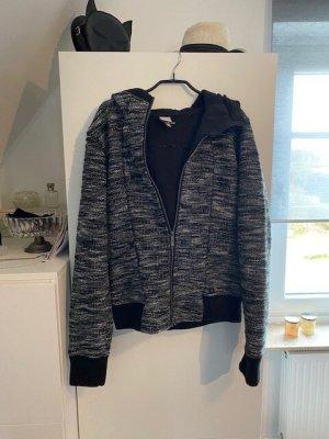 Bench Veste à capuche blanc-noir polyester
