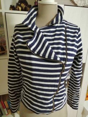 H&M L.O.G.G. Giacca-camicia bianco-blu scuro
