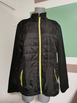Softshell Jacket black-yellow