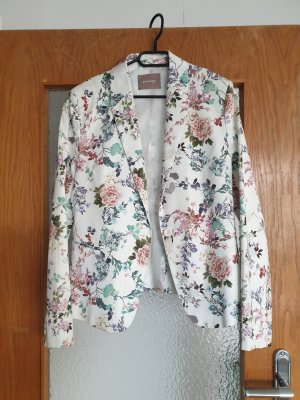 Blouse Jacket white-red