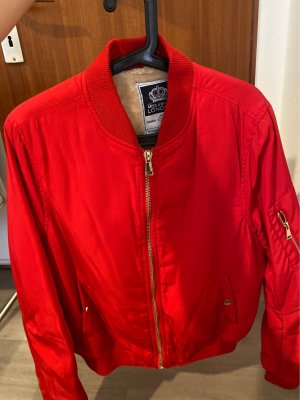 MISS UNIQUE LONDON Giacca bomber rosso scuro