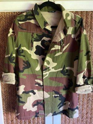 Feitong Veste militaire multicolore