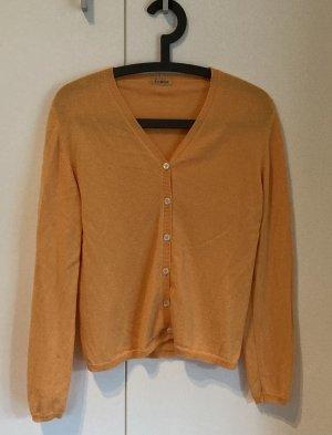 Cashmere Jumper dark yellow cashmere
