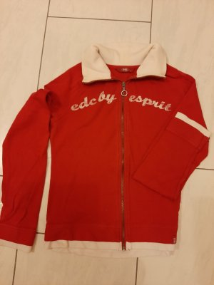 Nike Shirt Jacket oatmeal-red