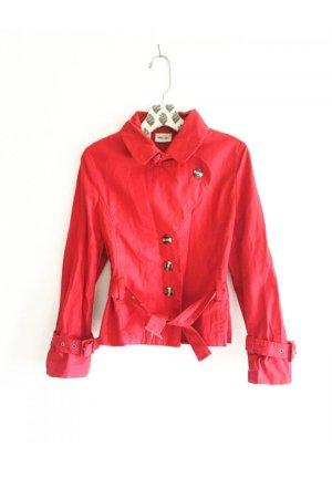 jacke • chino • vintage • rot • übergangsjacke