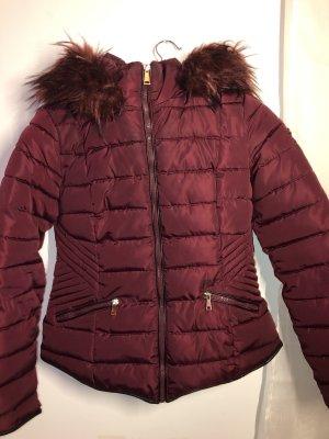 Winter Jacket dark red