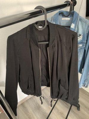 H&M Chaqueta de aviador negro