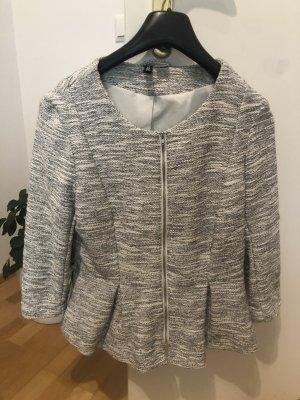 H&M Divided Knitted Blazer light grey
