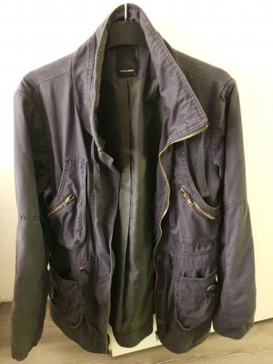 jacke damen Vero Moda Blau Gr. L Outdoor /Sahariana Stil mit viele Taschen