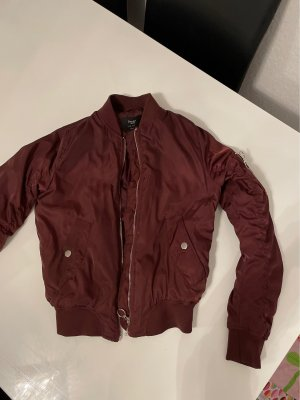 BSK by Bershka Bomber Jacket bordeaux