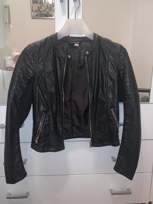 HM Leather Jacket black