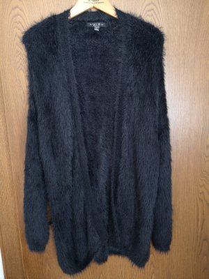Amisu Fake Fur Jacket black