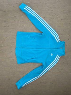 Adidas Giacca sport celeste