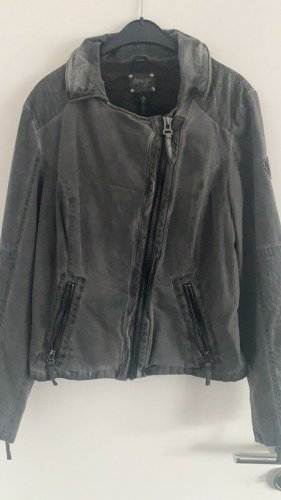 Maze Short Jacket grey