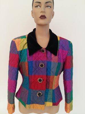 Blouse Jacket multicolored silk