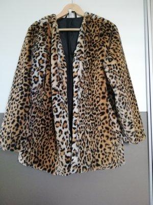 Fake Fur Jacket brown