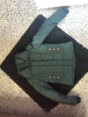 Mango casual Quilted Jacket dark green