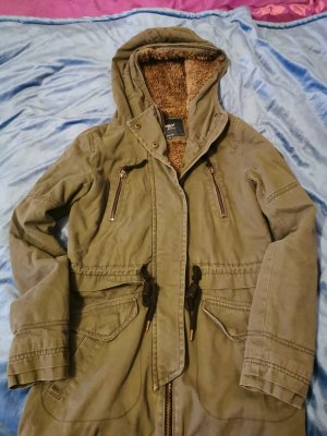 Be only Winter Jacket grey brown