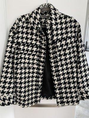 Edited Wool Jacket white-black