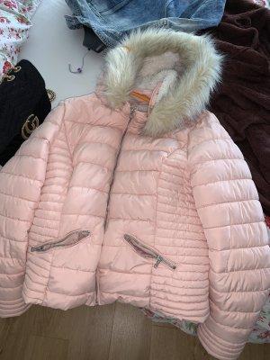 Tally Weijl Kurtka zimowa w kolorze różowego złota