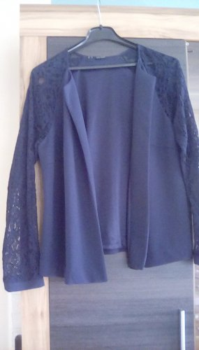 Bodyflirt Blousejack blauw Polyester