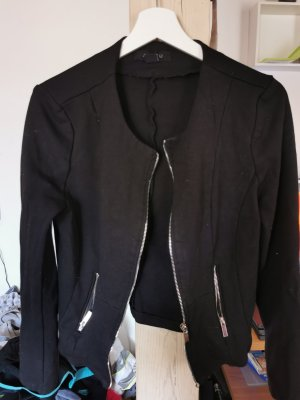 Amisu Chaqueta estilo camisa negro