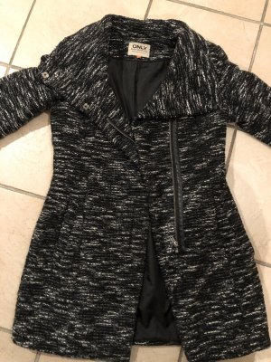 Only Chaqueta larga negro-gris