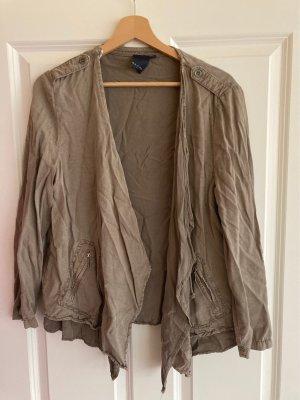 Sa.Hara Blouse Jacket grey brown