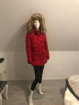 Only Outdoor Jacket dark red