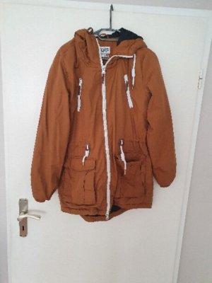 Sublevel Abrigo de entretiempo marrón
