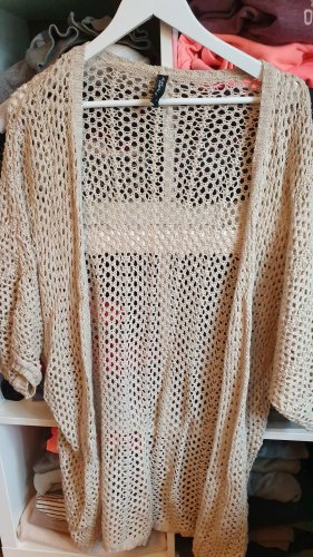 Takko Fashion Crochet Cardigan cream
