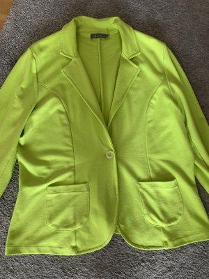 Geisha Shirt Jacket neon green viscose