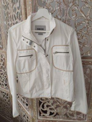 Geox Giacca corta bianco-beige