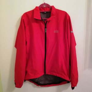 Gore Coupe-vent rouge fluo