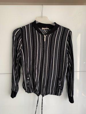 Blouse Jacket black-white