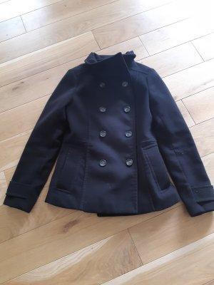 H&M Pea Jacket black