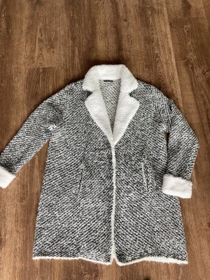 Canda Premium Overgangsjack wit-lichtgrijs