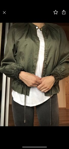 Blouse Jacket green grey