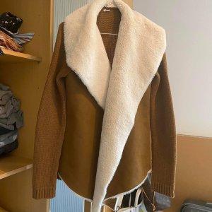 Asos Between-Seasons Jacket silver-colored