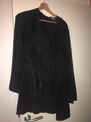 H&M Chaqueta con capucha negro