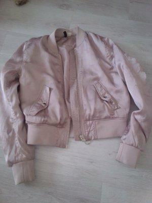 H&M Blouson aviateur vieux rose-rosé