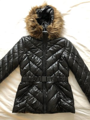 Jacke H&M schwarz glänzend