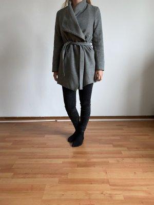 H&M Divided Wool Jacket light grey