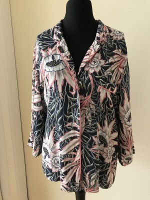 H&M Blouse Jacket multicolored viscose